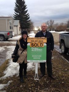 The day we became homeowners:):)